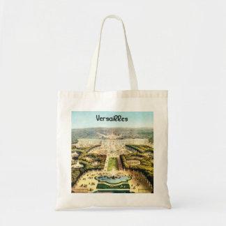 Vintage France, Palais de Versailles Budget Tote Bag