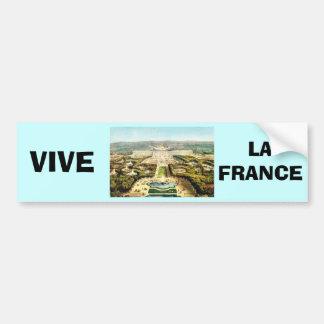 Vintage France, Palais de Versailles Car Bumper Sticker