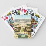 Vintage France, Palais de Versailles Bicycle Playing Cards