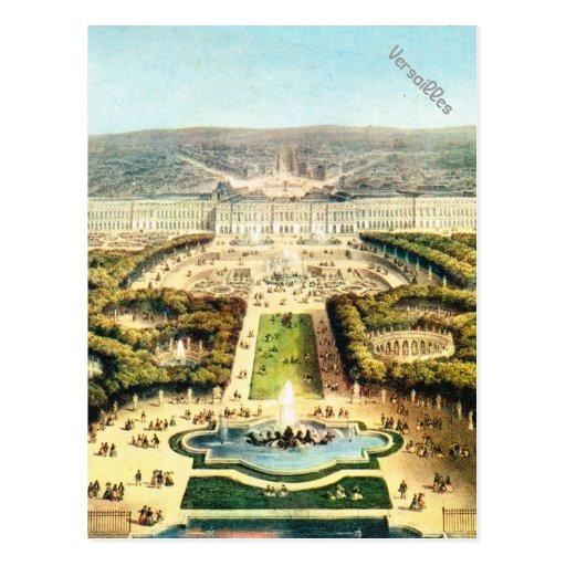 Vintage France, Palais de Versailles Post Cards