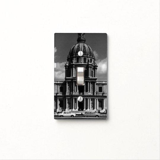 vintage france paris church saint louis invalides light switch cover