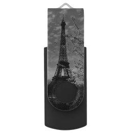 Vintage France Paris Eiffel tower 1970 Flash Drive