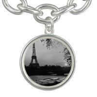 Vintage France Paris Eiffel tower sunset 1970 Bracelets