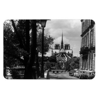 Vintage France Paris notre dame saint louis island Magnet