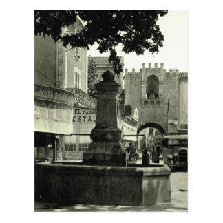 Vintage France St Paul les Trois chateau Postcard