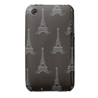 Vintage francés Case-Mate iPhone 3 cárcasas