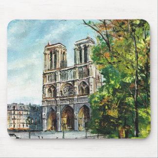 Vintage Francia, Notre Dame de Paris Mousepads