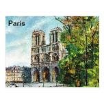 Vintage Francia, Notre Dame de Paris Postales