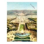 Vintage Francia, Palais de Versalles Postal
