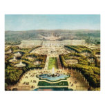 Vintage Francia, Palais de Versalles Posters