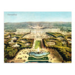 Vintage Francia, Palais de Versalles Tarjetas Postales