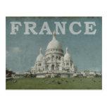 Vintage Francia Tarjeta Postal