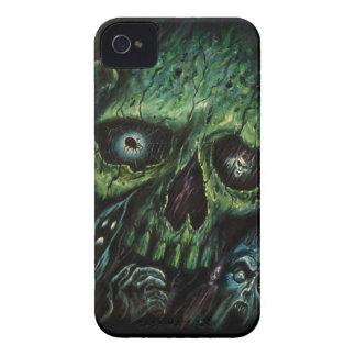 Vintage frecuentado de los fantasmas de los Case-Mate iPhone 4 fundas