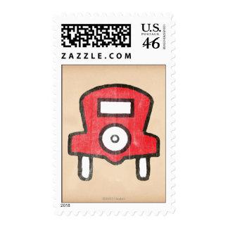 Vintage Free Parking Stamps