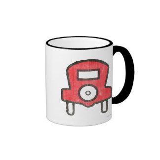Vintage Free Parking Ringer Mug