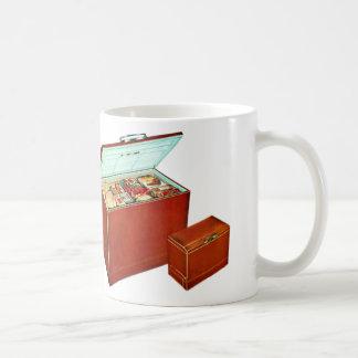 Vintage Freezer Appliances Fridge Coffee Mug