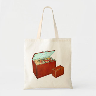 Vintage Freezer Appliances Fridge Tote Bag