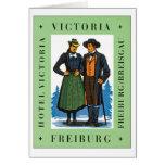 Vintage Freiburg Victoria Greeting Card