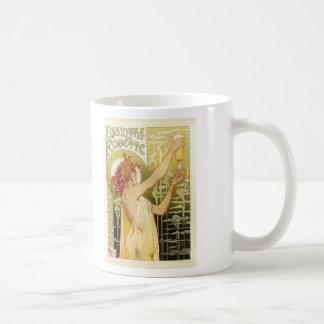 Vintage French Absinthe Advertisement Mug
