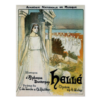 Vintage French Academy of Music ad Posters