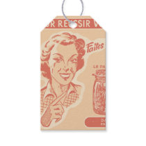 Vintage French Ad for Mason Jars Gift Tags