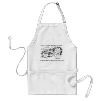 Vintage French advertisement Adult Apron