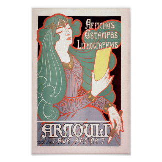 Vintage French Advertising Arnould Affiches 7 Rue Poster