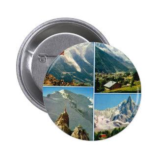 Vintage French Alps Chamonix Mt Blanc Pins