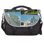 Vintage French Alps, Chamonix Mt Blanc Bag For Laptop