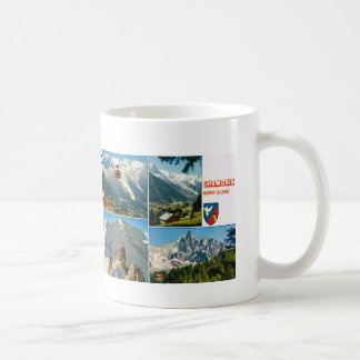 Vintage French Alps Chamonix Mt Blanc Mug