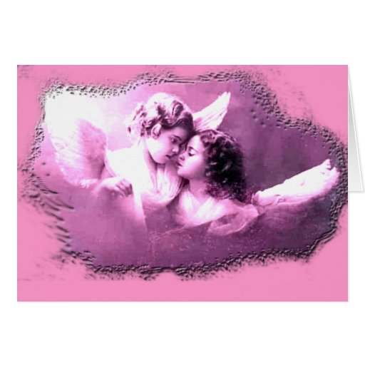 Vintage French Angels Designs Cards
