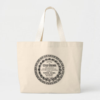 Vintage French Apothecary Label Bag