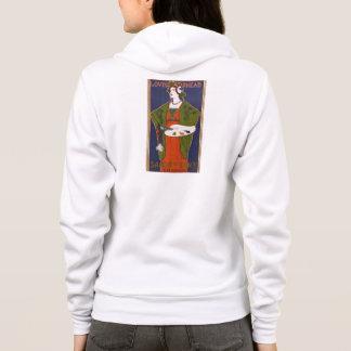 Vintage french artiste hoodie