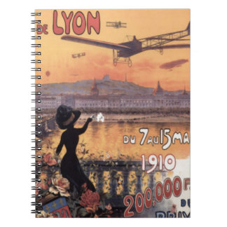 Vintage French Aviation Notebook