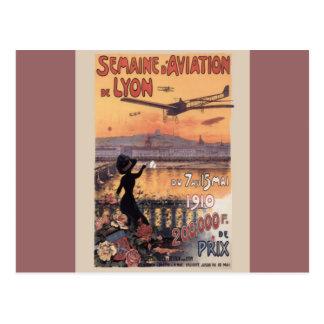 Vintage French Aviation Postcard