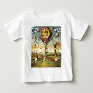 Vintage French Balloon and Trapeze Performance Baby T-Shirt
