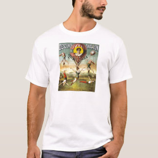 Vintage French Balloon and Trapeze Performance T-Shirt