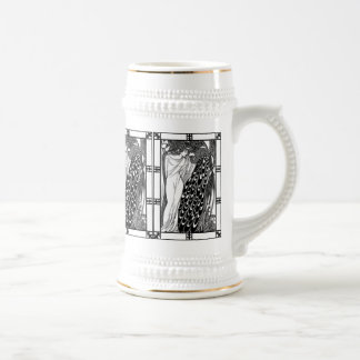 Vintage French Bicycle Ad:  American Cycles Snell 18 Oz Beer Stein