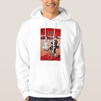 Vintage French Bicycle Ad:  American Cycles Snell Hoodie
