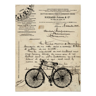 Vintage Bicycle Posters Zazzle