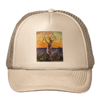 Vintage French Bicycle Poster Trucker Hat