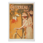 Vintage French bike advertisement Poster