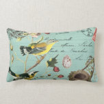 Vintage French Birds pillow