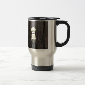 Vintage French Brass Doorknocker Shaped As A hand Travel Mug