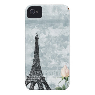 Vintage French Butterflies and Roses Case-Mate iPhone 4 Case