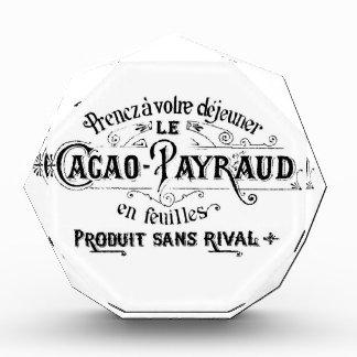 Vintage French Cacao - Payraud Ad Award