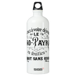 Vintage French Cacao - Payraud Ad Water Bottle