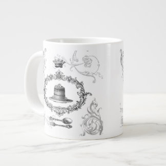 Vintage French Cake coffee mug