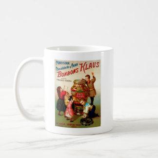 Vintage French Candy advertising illustration Coffee Mug