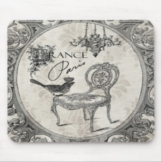 Vintage French chair mousepad